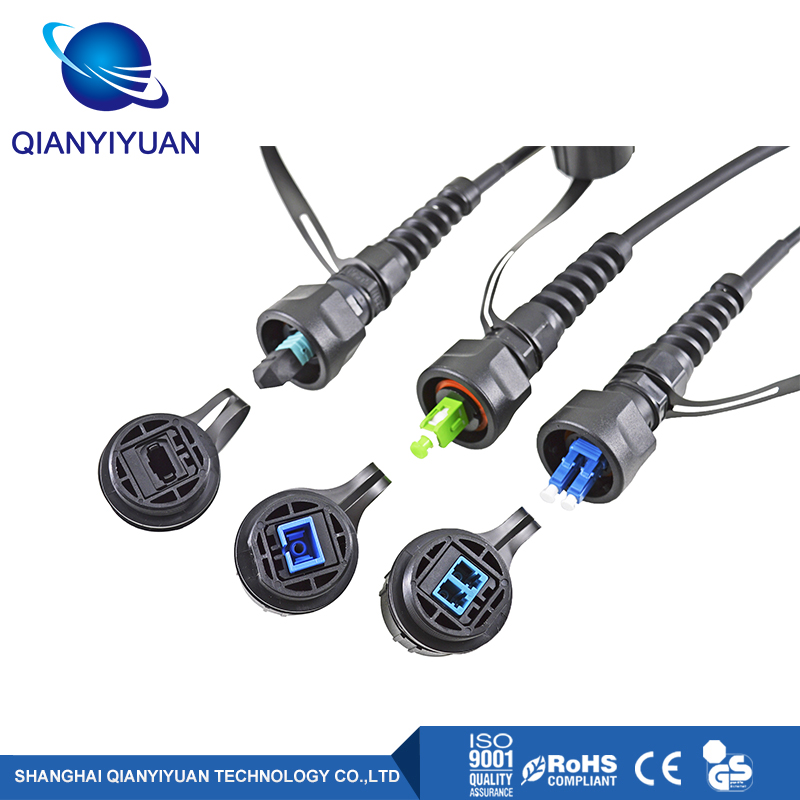 ODVA Outdoor Waterproof Fiber Optical Connector